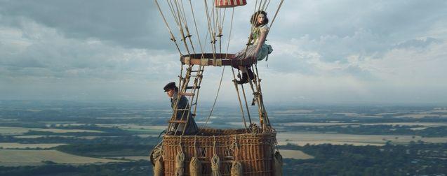 The Aeronauts : le film d'Amazon se dévoile dans une deuxième bande-annonce vertigineuse