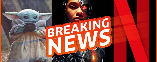 La France rançonne Netflix, racisme dans la Justice League, Mandalorian saison 2 : notre critique - Breaking News #5