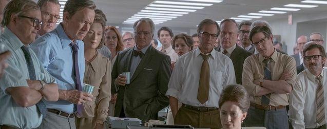 Photo Tom Hanks, Meryl Streep, Carrie Coon, Bradley Whitford