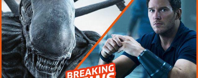 Tomorrow War et sa bande-annonce flinguée, des images moches d'Alien 5, Netflix vs la loi française