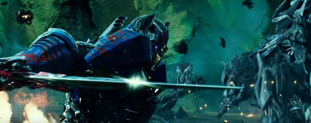 Optimus Prime trailer 3 Excalibur