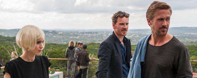 Photo Rooney Mara - Michael Fassbender - Ryan Gosling