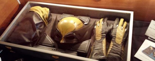 Photo le costume jaune de Wolverine