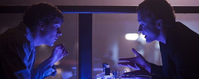photo, Jesse Eisenberg, Justin Timberlake
