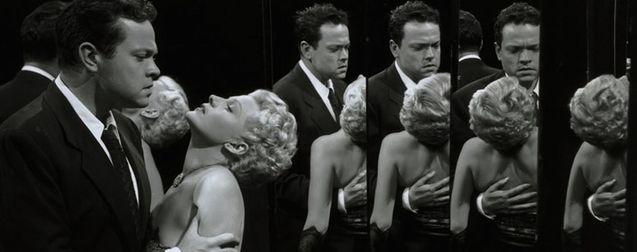 Photo Orson Welles, RIta Hayworth