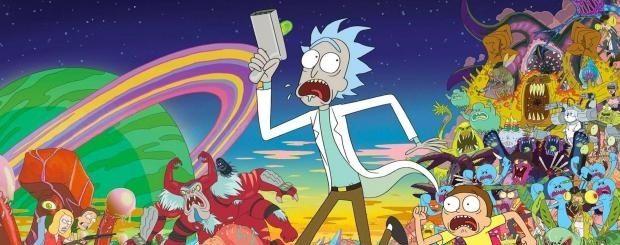 Rick et Morty annoncent leur saison 3 avec un cadavre exquis au LSD