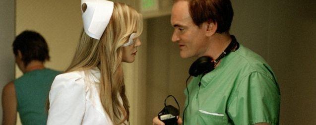 Photo Quentin Tarantino, Daryl Hannah