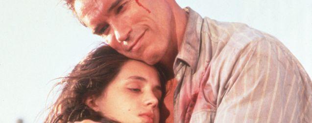 Photo Eliza Dushku, Arnold Schwarzenegger
