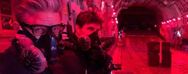 Photo Tom Cruise, Christopher McQuarrie