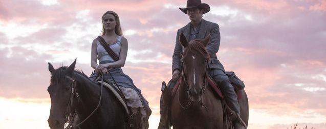 Photo James Marsden, Evan Rachel Wood, Westworld