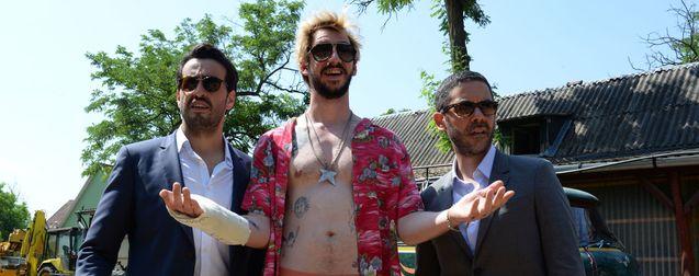 photo, Manu Payet, Jonathan Cohen, Monsieur Poulpe