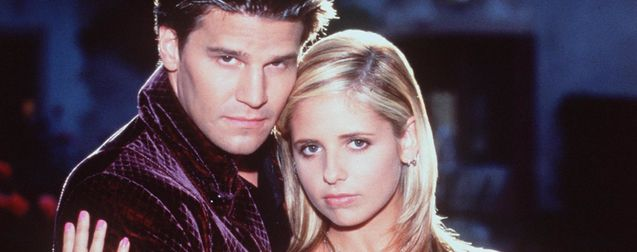 photo, Sarah Michelle Gellar, David Boreanaz