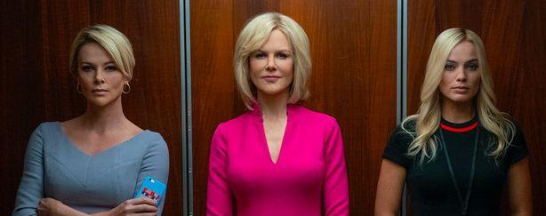 Bombshell : Margot Robbie, Charlize Theron et Nicole Kidman dans la bande-annonce du scandale sexuel Fox News