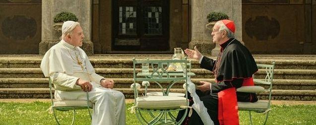 """CINÉMA : """"Les Deux Papes"""" (Vidéo - Teaser - Anthony Hopkins est Benoît XVI et Jonathan Pryce, son successeur, le futur pape François.) The-two-popes-photo-anthony-hopkins-jonathan-pryce-1096044-large"""