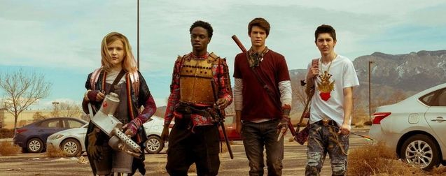 Photo Alyvia Alyn Lind, Austin Crute, Colin Ford, Gregory Kasyan