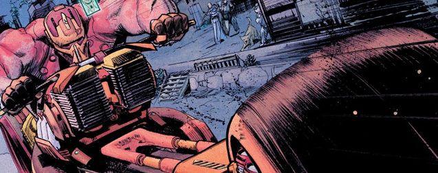 Tokyo Ghost : une sorte de Mad Max mixé avec Judge Dredd du comics indépendant