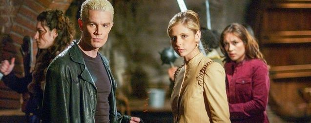 photo, Buffy contre les vampires, James Marsters, Sarah Michelle Gellar