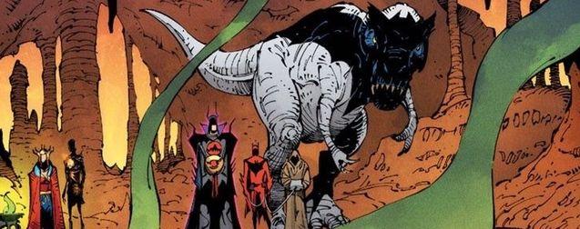 Death Metal : Batman est un dinosaure et c'est tout simplement génial