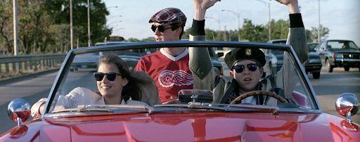 photo, Mia Sara, Alan Ruck, Matthew Broderick