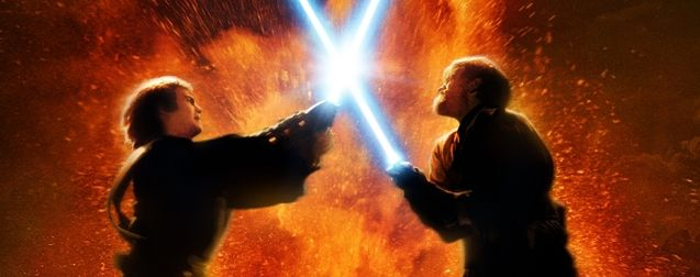 Photo Duel Anakin Obi Wan