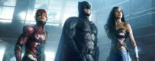 Photo Ben Affleck, Ezra Miller, Gal Gadot, Zack Snyder's Justice League