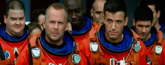 Photo Bruce Willis, Ben Affleck