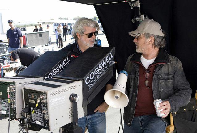Photo Steven Spielberg, George Lucas