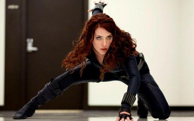 : Scarlett Johansson Black Widow
