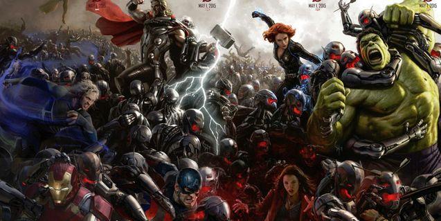 Photo groupe 2 Avengers