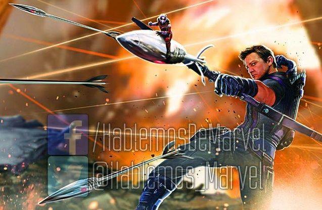 Photo Hawkeye Ant-Man