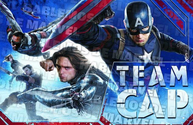 Photo Team Captain America