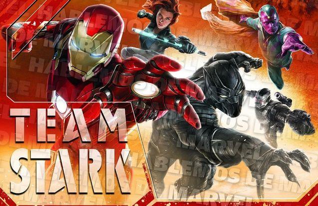 Photo Team Iron Man