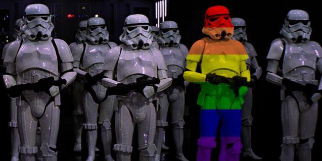 Photo Stormtrooper LGBT