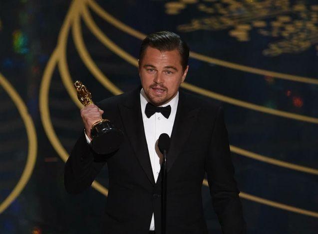 Photo Dicaprio Oscars