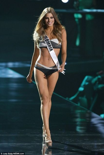 miss colombie maillot