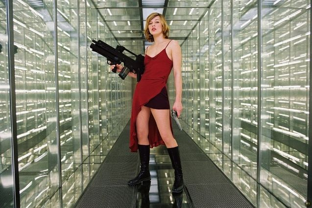 Photo Milla Jovovich, Resident Evil