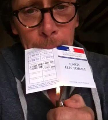 carte électorale - Nuit Debout