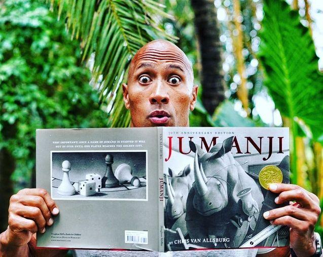 Photo Jumanji remake