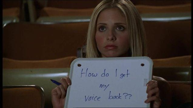 Buffy contre les vampires, Un silence de mort