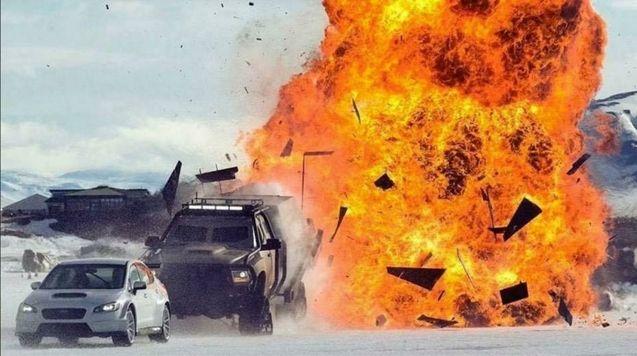 making of explosion Islande