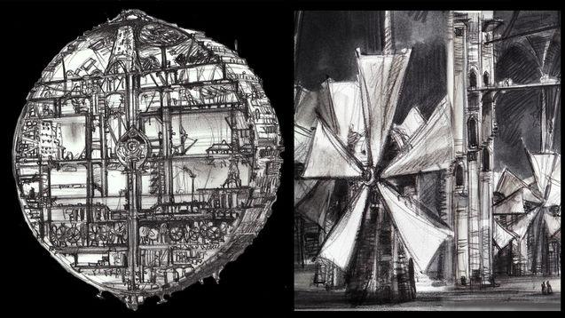 Vincent Ward - concept art