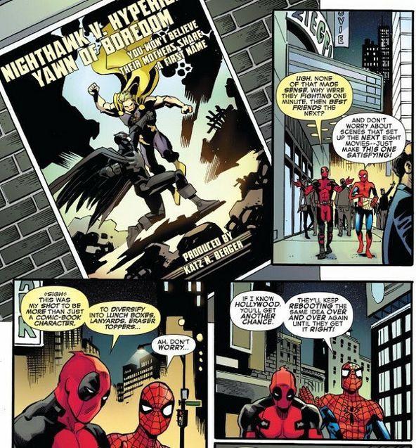 parodie Marvel