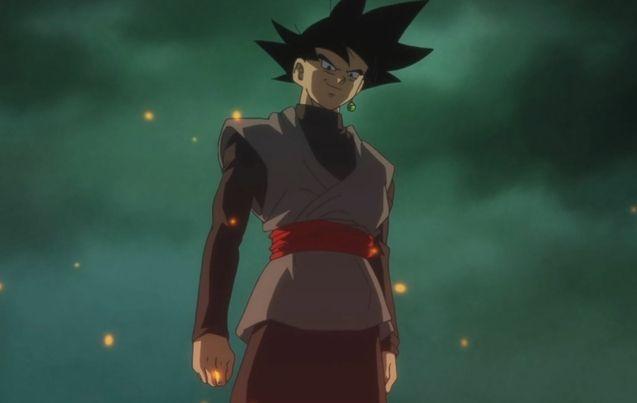 Photo Black Goku