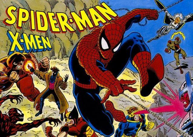 Photo X-Men SPider-Man