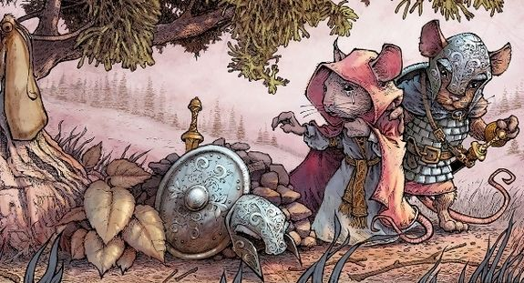 Photo Mouse Guard 2