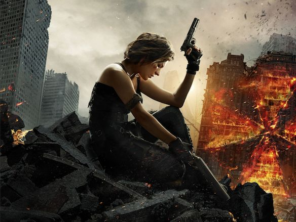 Affiche Resident Evil : The Final Chapter