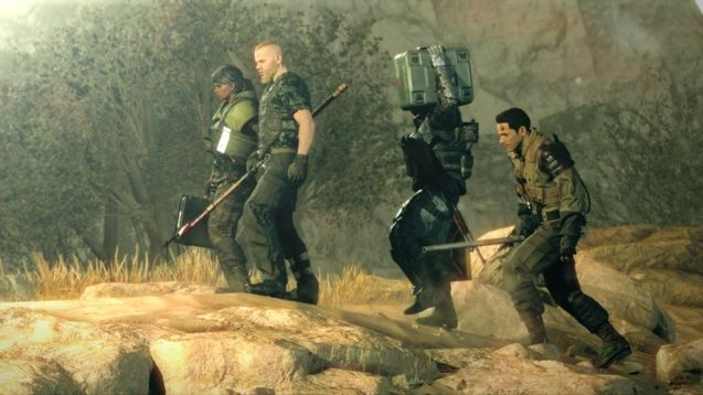 Photo Metal Gear Survive