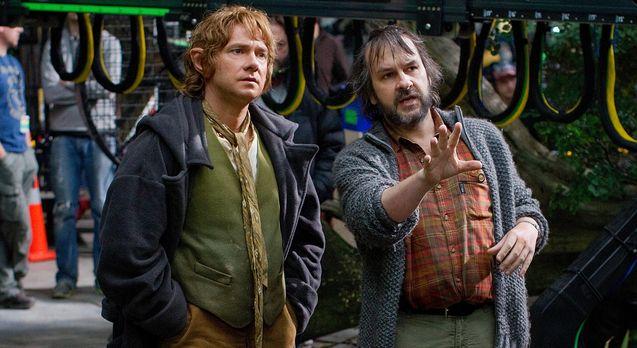 Photo Martin Freeman, Le Hobbit