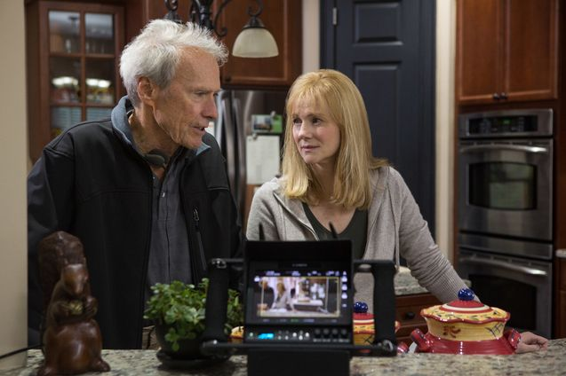 Photo Clint Eastwood, Laura Linney
