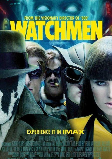 Affiche IMAX, Watchmen